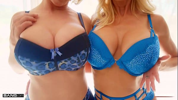 Rammed – Two Hot Blonde MILFs Sharing A Big Cock