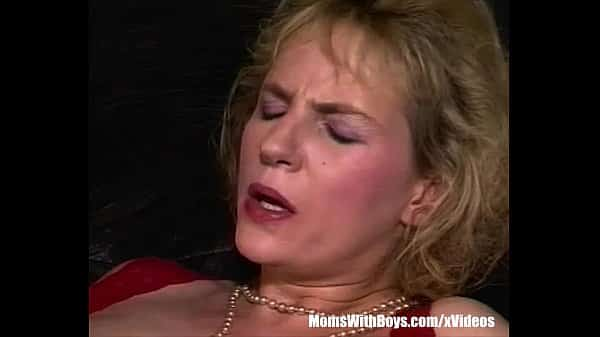 Blonde Mature Fucked By A Man In Sexy Thong